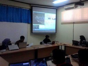 Belajar pemetaan mangrove bersama BMC.