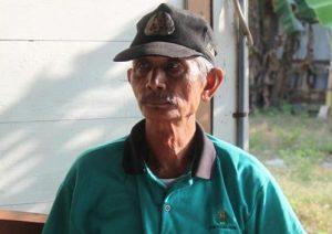 Pak Yadi, yang pernah diundang Presiden SBY ke istana negara, untuk berdiskusi mengenai pengelolaan mangrove di Indonesia.